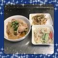 【献立23】とり大根・春雨サラダ・エリンギと玉ねぎのバター醤油炒め