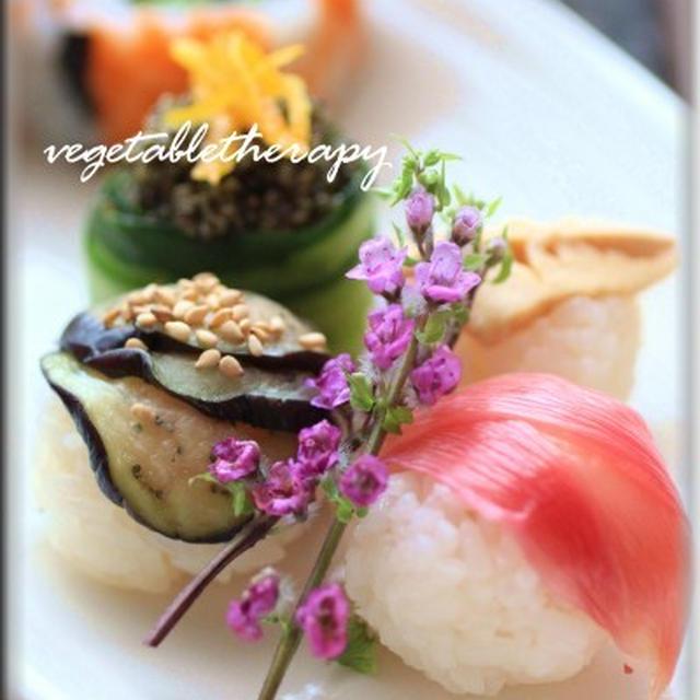 ひな祭りにもぴっったり♪ベジタブル手まり寿司