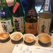 どこの世に、朝から日本酒にふられても