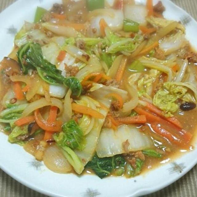 旬の白菜レシピで美肌力、免疫力を高めよう!白菜とひき肉のうま辛味噌炒め!人気のレシピ