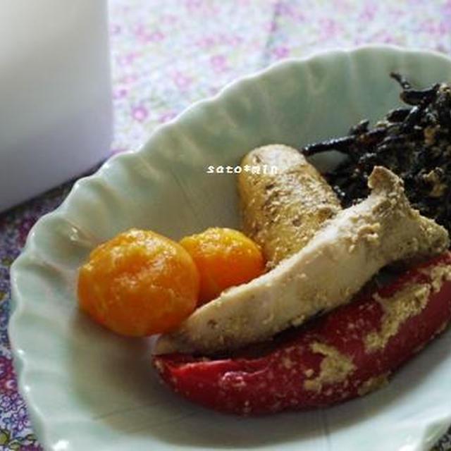 今日もカレーなランチと、美味しいものお取り寄せしてみました(京都のぬか漬けセット)