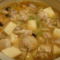 XO醤で鶏キャべ鍋~☆