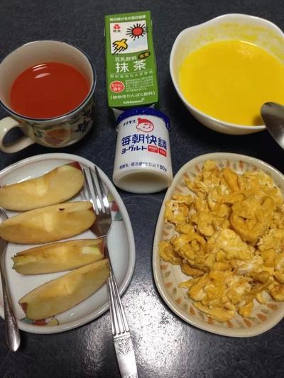 朝ご飯。。!!