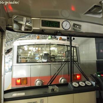 トロリーバスに乗りに、黒部ダムへ。