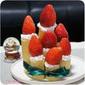 ホットケーキミックスでローソクのケーキ by 杏さん