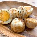 【レシピ】ゆで卵のオイマヨ炒め