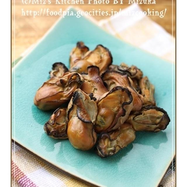 【中華鍋@夜燻製】ぷっくり牡蠣のスモーク(15分)