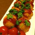 おつまみレシピ:チーズ入りじゃがもっちー by YUMIさん