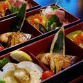 ■続・正月料理編【②副菜・ブリの照り焼き他3品盛り合わせ】です♪ by あきさん
