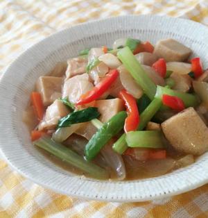 高野豆腐と鶏肉のオイスター丼/くらしのアンテナ