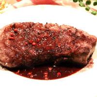 【簡単!豚肉レシピ】ジューシー♪ポークステーキの赤ワインソース