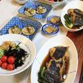 ◆カレイの煮つけでおうちごはん♪~緩やか糖質制限中