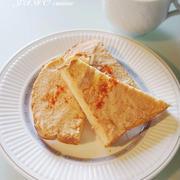 超簡単!トーストレシピ☆明太マヨトースト☆そしてスマホの初期化画面がカワイイ♪