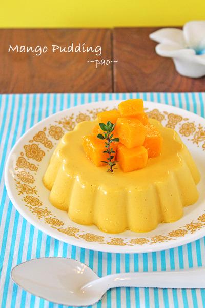 混ぜて冷やすだけ簡単ふわとろマンゴープリン色々~♪七夕お菓子にもお勧め~