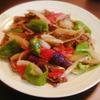 夏野菜のガラムマサラ炒め