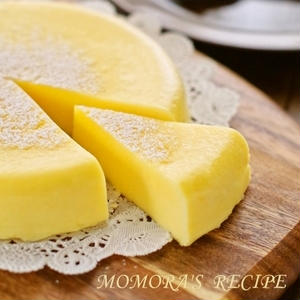 レンジで簡単!15分以内で「濃厚チーズケーキ」