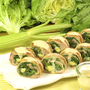 【動画レシピ】とろ~りチーズとシャキシャキのレタスがたまらない♪「レタスとセルリーの豚肉巻チーズロール」