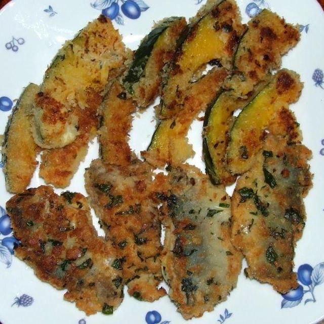 蕪の炒め煮&鯵のガーリックフライ&ブロッコリーサラダ