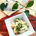 5分でデリ風 * ブロッコリーとツナの柚子胡椒マヨサラダ