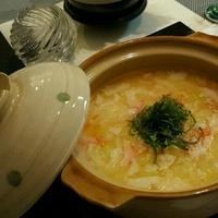 土鍋DE土鍋~あんかけ豆腐の茶碗蒸し