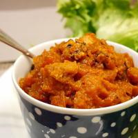 【うちレシピ】圧力鍋で簡単★スペイン風タコのトマト煮 /  【参加中】レシピブログの「ハンバーグで簡単&おいしい秋の食卓♪」レシピモニター参加中