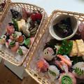 春の手まり寿司風お弁当