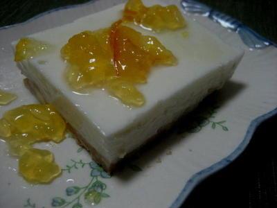 ヨーグルトレアケーキ
