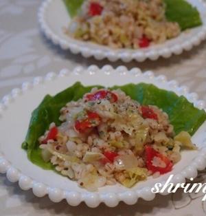 タイ風麦サラダ