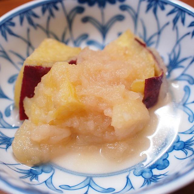 さつまいもとりんごの甘煮