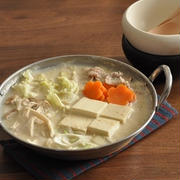栄養価が高い豆乳で美味☆簡単豆乳鍋