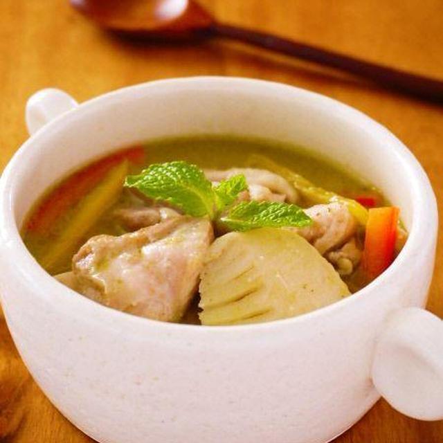 チキンと筍のグリーンカレー♪簡単タイカレーレシピ