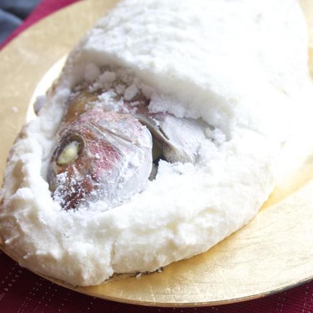 鯛の塩釜焼き*敬老の日に・お祝いに!