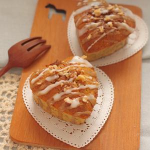 カルダモン香るキャロットナッツケーキ