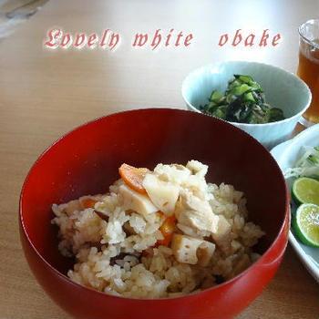 秋♪ 根菜の炊き込みご飯 と 焼き塩鯖