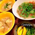 フォーのスープなお味 ♪ レモングラスたっぷりでタイ風なんちゃって?!簡単に本格派なスープ(^^)