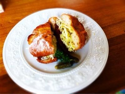 上士幌町 十勝ハーブ牛 塩だけで作ったコンビーフ サンドウィッチ