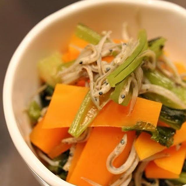 小松菜のじゃこ煮