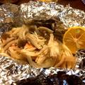 秋鮭とキノコのゆずバターホイル蒸しと秋に癒されるアカペラソングはいかが?