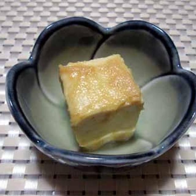 これからの季節にお奨め☆豆腐の味噌漬け
