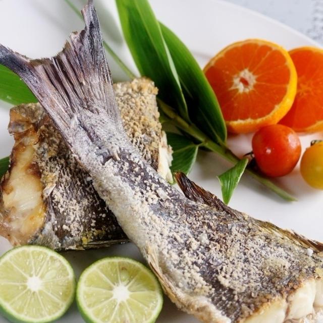 ■【イサキの塩焼きレシピ】娘婿殿が釣に「船上で活〆品」のお土産です♪