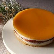 オレンジのハチミツムースケーキと食事作り