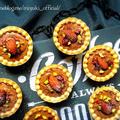 ♡材料3つde超簡単♡ミニチョコムース一口タルト♡【#時短#節約#お菓子#卵不使用#市販のタルトカップ】