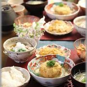 【レシピ】里芋の揚げ出しコロッケ。と 献立。と 2つのお弁当:テレワークとテレスタディ。