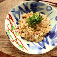 食材3つで簡単☆梅の和風チャーハン【#ヤマキだし部 #時短】