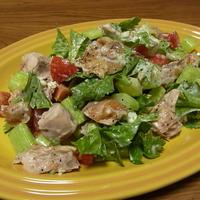 鶏肉とセロリのクリーミーサラダ