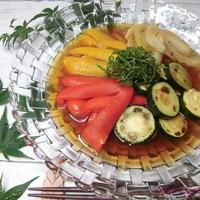 夏野菜の焼きびたし 【ヤマキだし部】