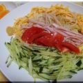 今季初・冷やし中華~レモン醤油味