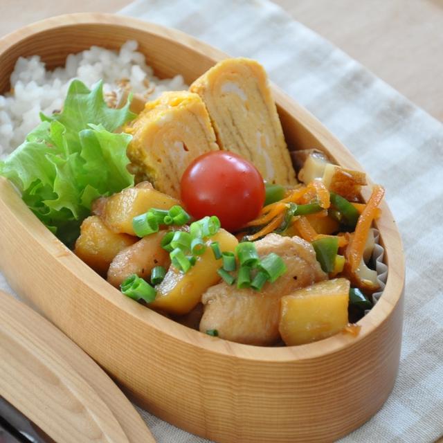 【お弁当おかずレシピ】鶏むね肉もしっとりと♡ごはんがすすむ!3品弁当