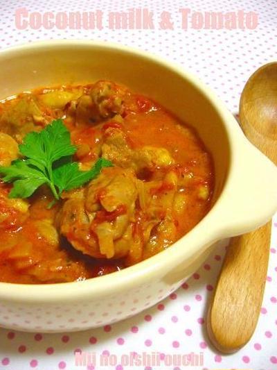 ごはんにもパンにもぴったり♪「鶏もも肉のトマト煮」レシピ5選