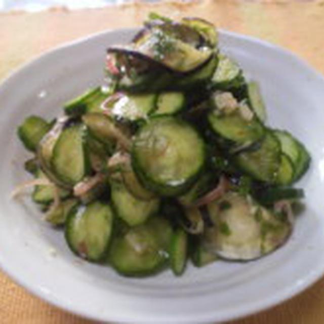 夏野菜でさっぱりな郷土料理「きりざい」
